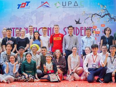 International students at TDTU
