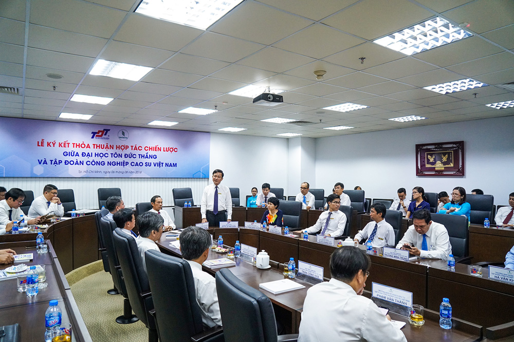 Comprehensive cooperation with the Vietnam Rubber Group