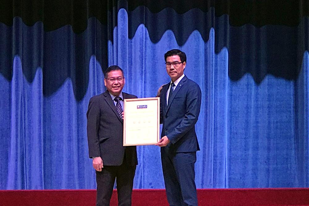 Trường Đại học Tôn Đức Thắng được xếp hạng 4 sao theo QS Stars University Ratings (Anh Quốc)