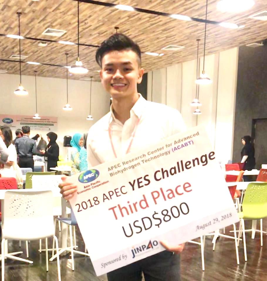 Đức Minh với Giải 3 Cuộc thi