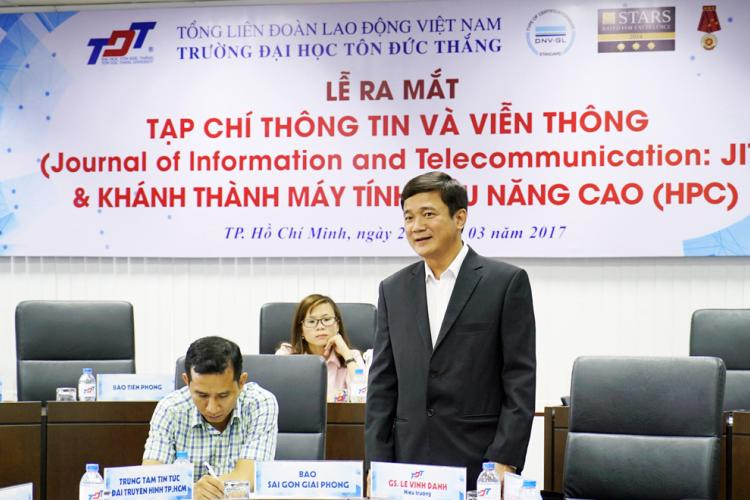 Ton Duc Thang University  introduces the Journal of Information and Telecomunications (JIT) and High  Performance Computing (HPC)