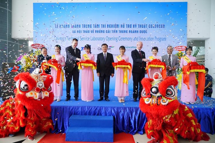 Colorcon opened the Technical Assistance Center at Ton Duc Thang University