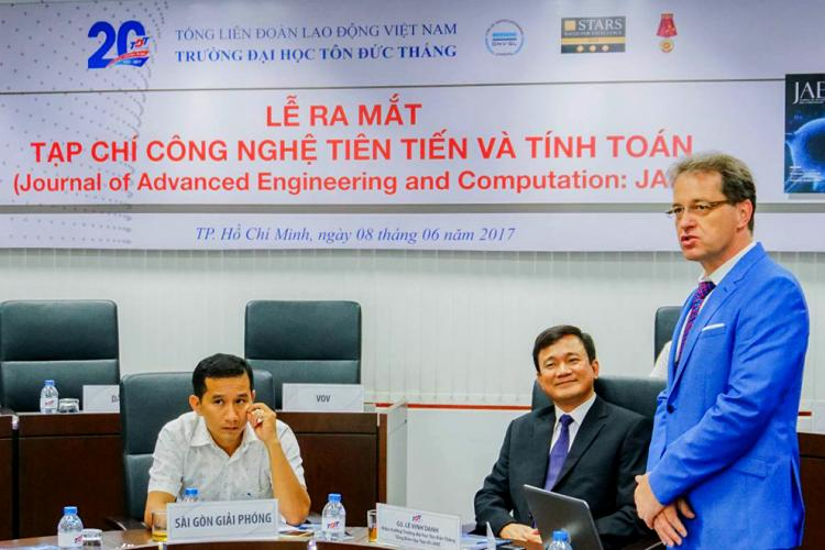 Ton Duc Thang University introduces Journal of Advanced Engineering and Computation-JAEC