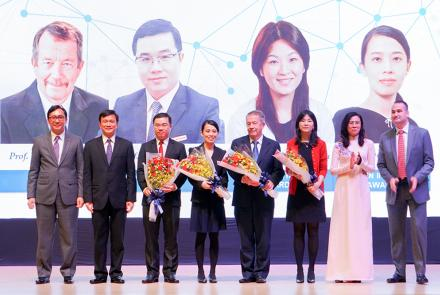 The Award Ceremony for the Ton Duc Thang University Scientific Prize (TDTU Prize)