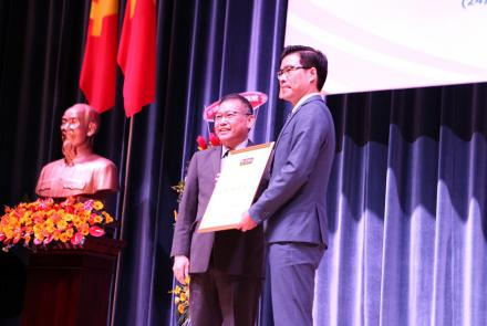 Ton Duc Thang University achieved a 4-star rating from QS Stars
